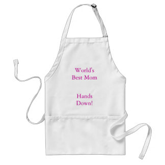 World's Best Mom, Hands Down! Standard Apron