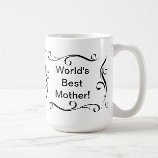 """World's Best Mother"" coffee mug"