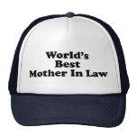 World's Best Mother In Law Cap