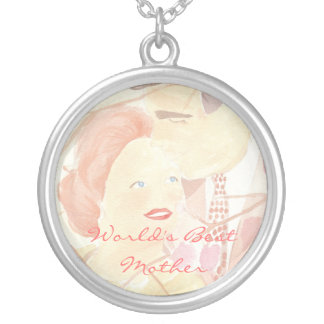 World's Best Mother Silver Plated Necklace