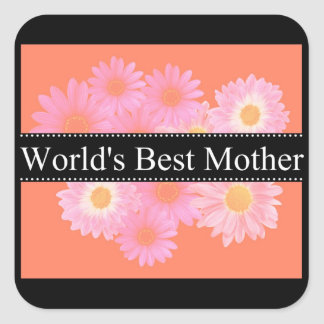 World's Best Mother Sticker