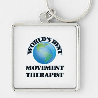 World's Best Movement Therapist Keychains