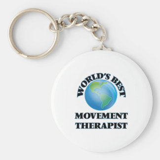 World's Best Movement Therapist Key Chains
