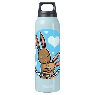 Worlds best Mum Bunny Insulated Water Bottle