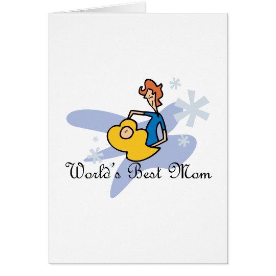 Worlds' Best Mum Card