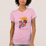 """""""World's Best Mum"""" Cartoon Art Tee Shirt"""