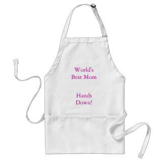 World's Best Mum, Hands Down! Standard Apron