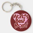 World's BEST Mum! Key Ring