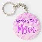 World's Best Mum Key Ring