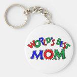 Worlds Best Mum Keychain