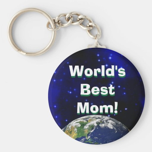 World's Best Mum! Keychain