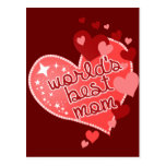 Worlds Best Mum Post Cards