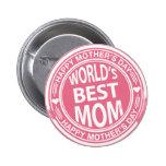 World's Best mum rubber stamp effect