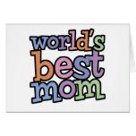 Worlds Best Mum T-Shirts & Gifts Card