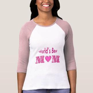 World's best Mum T Shirt