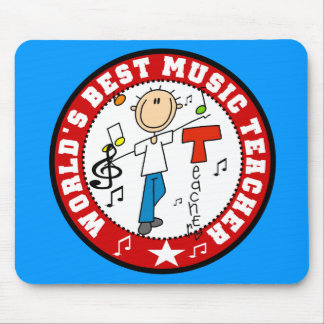 World's Best Music Teacher Mouse Mat