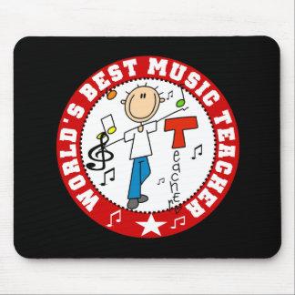 World's Best Music Teacher Mouse Mats