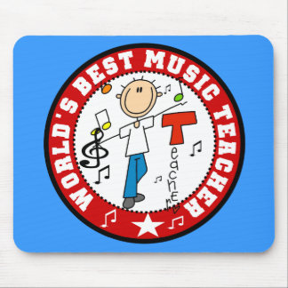 World's Best Music Teacher Mousepad