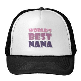World's Best Nana Cap
