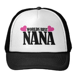 Worlds Best Nana Cap