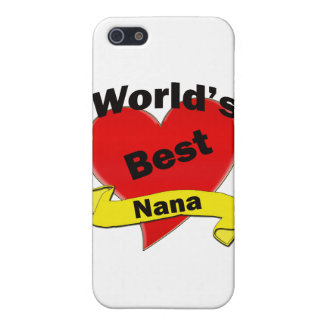World's Best Nana Case For iPhone 5/5S