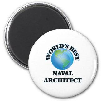 World's Best Naval Architect Magnet
