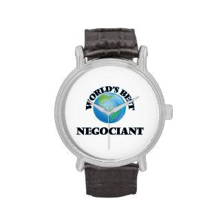 World's Best Negociant Wristwatch
