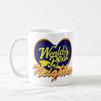 World's Best Neighbor Coffee Mug