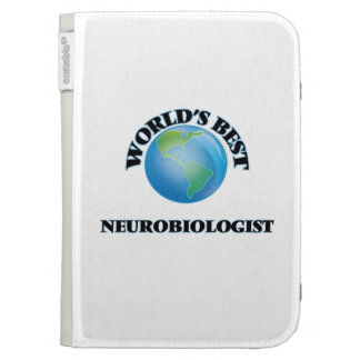 World's Best Neurobiologist Kindle Cases