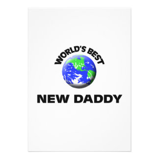 World's Best New Daddy Announcement