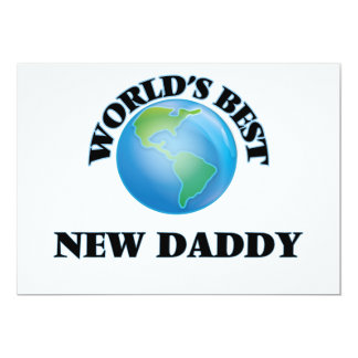 World's Best New Daddy Cards
