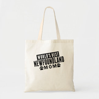 World's Best Newfoundland Mom Tote Bag