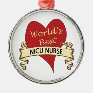 World's Best NICU Nurse Christmas Ornament