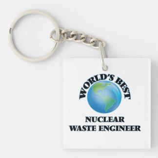 World's Best Nuclear Waste Engineer Acrylic Keychain
