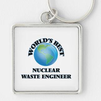 World's Best Nuclear Waste Engineer Keychain