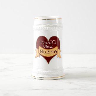 World's Best Nurse Beer Stein