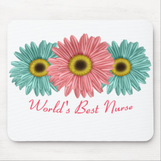 World's Best Nurse Mouse Pad