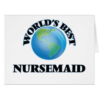World's Best Nursemaid Cards