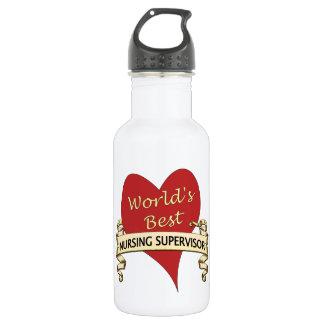 World's Best Nursing Supervisor 532 Ml Water Bottle