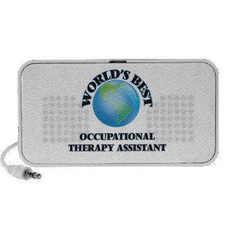 World's Best Occupational Therapy Assistant PC Speakers