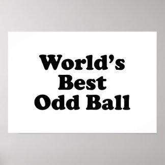 World's Best Odd Ball Print