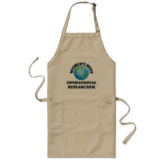 World's Best Operational Researcher Aprons