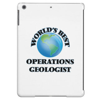 World's Best Operations Geologist Case For iPad Air
