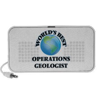 World's Best Operations Geologist Portable Speaker