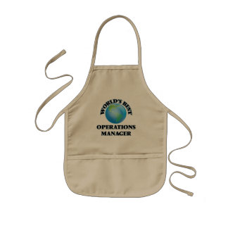 World's Best Operations Manager Apron