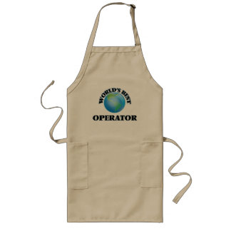 World's Best Operator Long Apron