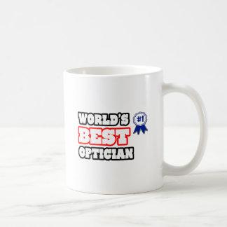 World's Best Optician Basic White Mug