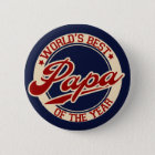 World's Best Papa 6 Cm Round Badge