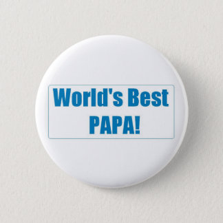 World's Best Papa Button