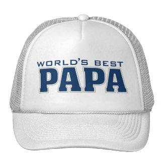 World's Best Papa Hat